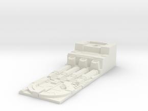 Deathstar Trench Port - Scenerio Objective  in White Natural Versatile Plastic