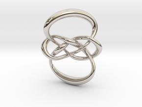 Carrick mat (Circle) in Platinum: Small