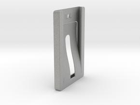 Credit Card Wallet clip in Metallic Plastic