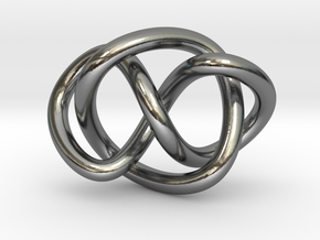 Whitehead link (Circle) in Polished Silver (Interlocking Parts): Extra Small