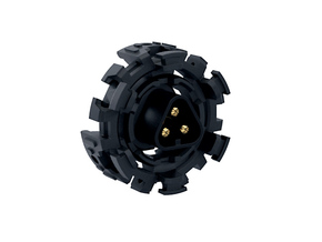 HILT MT30 Connector Holder MHS-V2 PLASTIC in Black Natural Versatile Plastic