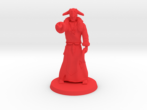 Dark Necromancer (ver 2.1) in Red Processed Versatile Plastic