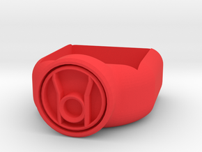 Red Lantern Corps Chalk Holder in Red Strong & Flexible Polished