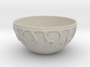 Cereal Bowl in Natural Sandstone
