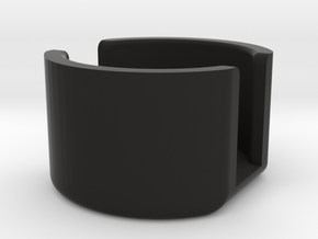 SPRING RETAINER CUP.1 in Black Natural Versatile Plastic