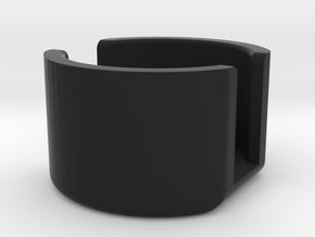 SPRING RETAINER CUP.1 in Black Natural Versatile Plastic