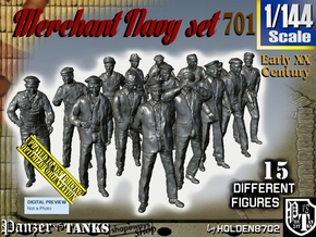 1/144 Merchant Navy Set701 in Frosted Ultra Detail