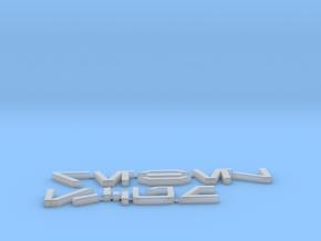 Rebel Scum in Aurebesh in Smooth Fine Detail Plastic