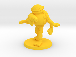 Trogg Security Officer #2 in Yellow Strong & Flexible Polished