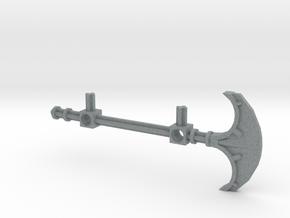 Bionicle staff (Onewa, set form) in Polished Metallic Plastic