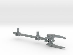 Bionicle staff (Vakama, set form) in Polished Metallic Plastic