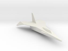 Lockheed X-15D 1:144 in White Natural Versatile Plastic