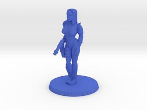 Katrina Space Explorer in Blue Processed Versatile Plastic