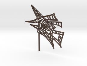 Joko Joko Art in Matte Bronze Steel