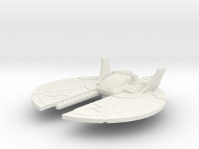 Dralthi Fighter Mk. I: 1/270 scale in White Natural Versatile Plastic