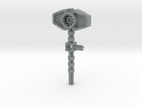 Bionicle weapon (Reidak, set form) in Polished Metallic Plastic