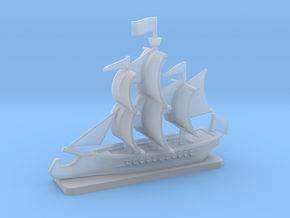 Ram Frigate with base, 22 gun: 1/500 scale in Smooth Fine Detail Plastic