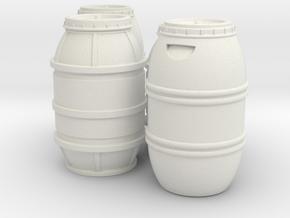 1:18 FALCON YT1300 ANH CARGO BARREL SET VAR B.2 in White Natural Versatile Plastic