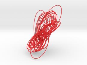 Cassini Solstice -lite in Red Processed Versatile Plastic