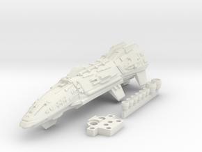 1/2700 Tartan Cruiser in White Natural Versatile Plastic