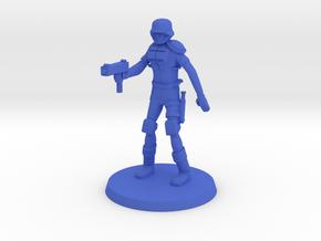 Raider Tech in Blue Processed Versatile Plastic