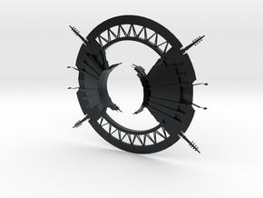 1/14000 Scarif Shield Gate in Black Hi-Def Acrylate