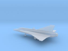 Saab J.35 Draken in Smooth Fine Detail Plastic: 1:200