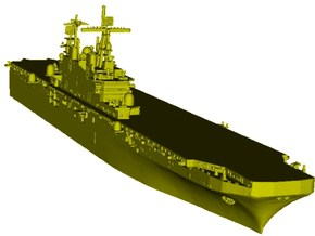 1/1800 scale USS Tarawa LHA-1 assault ship x 1 in Smooth Fine Detail Plastic