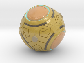 Zenyatta's Ball (Color/Different Sizes available) in Glossy Full Color Sandstone: Small
