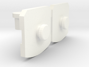 TR: PowerLord Wrist Adaptor in White Processed Versatile Plastic