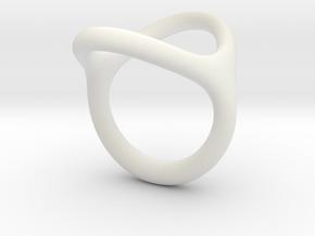 Milano_3 in White Natural Versatile Plastic: Small
