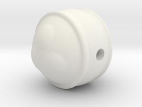 peace pearl in White Natural Versatile Plastic