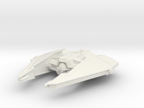 Sith Fury-class Imperial Interceptor  in White Natural Versatile Plastic