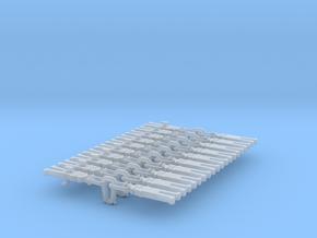 NEM OO Type 32 Couplings - Strait Instanter x10 in Smooth Fine Detail Plastic