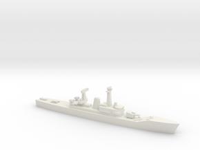 Van Speijk-class frigate (1963), 1/1250 in White Natural Versatile Plastic