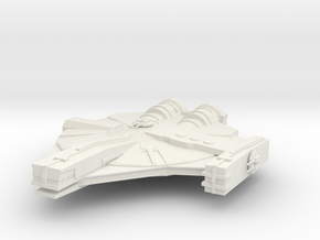 XS Freighter in White Natural Versatile Plastic