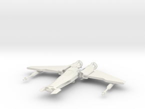 Liberator-class Talon Fighter in White Natural Versatile Plastic