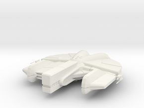 Dynamic-class Freighter in White Natural Versatile Plastic