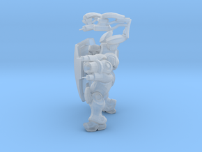 1/60 Terran Medic Healing Pose in Smoothest Fine Detail Plastic