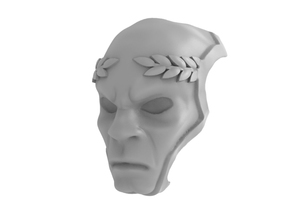 Blood Guardian - Death Mask in Frosted Ultra Detail