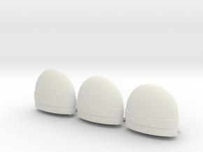 tilt tub  three pack in White Natural Versatile Plastic