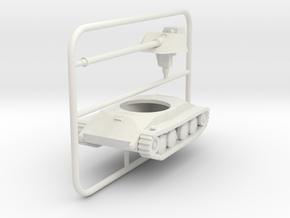 1/100 Waffentrager 8,8-cm-PAK mit Stirnschil in White Natural Versatile Plastic