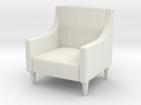 Printle Thing Armchair 03 - 1/24 in White Natural Versatile Plastic