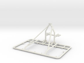 Chain Harrow Small 1/32 - Siku Frame  in White Natural Versatile Plastic