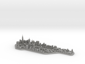 Mini-Manhattan Model in Aluminum