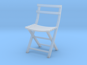 Bistro Chair various scales in Smooth Fine Detail Plastic: 1:12