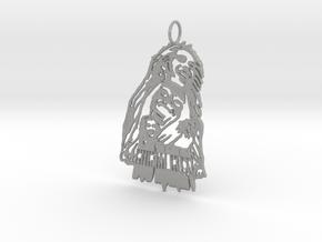 Bob Marley Pendant in Aluminum