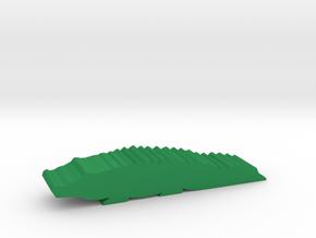 Game Piece, Crocodile in Green Processed Versatile Plastic