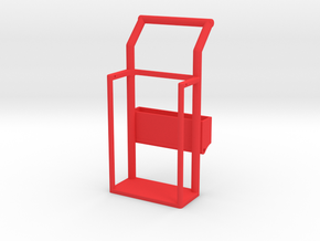 1/10 scale OXYGEN/ACETYLENE CART in Red Processed Versatile Plastic