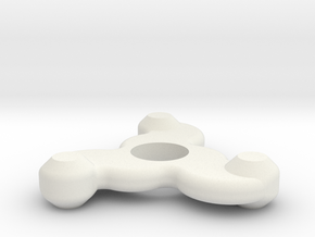 Tentacle in White Natural Versatile Plastic